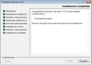 installazione-completata-desktop-telematico-agenzia-entrate