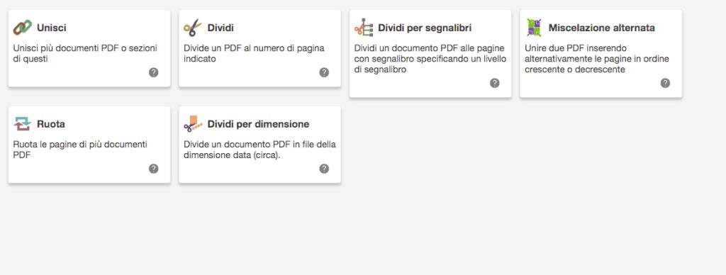 programma per unire pdf