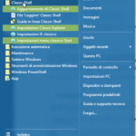 menu start windows 10 prima della modifica